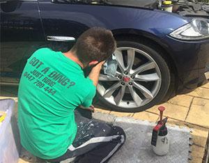 Mobile Paint & Dent Repairs - Brisbane - Wheel Repairs