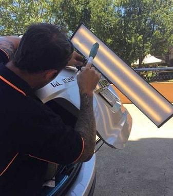 Mobile Paint & Dent Repairs - Perth - Car Clinic