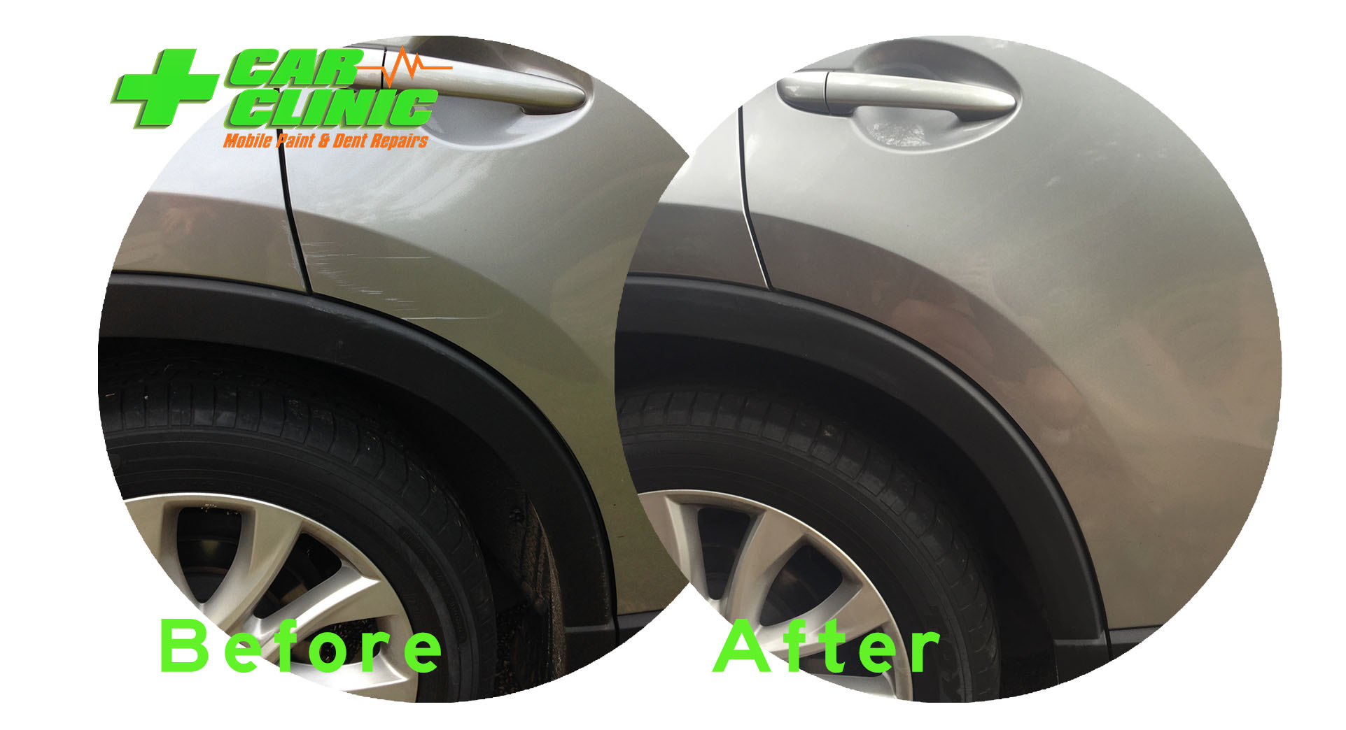 Mobile Paint & Dent Repairs - Brisbane - Before After Image o1