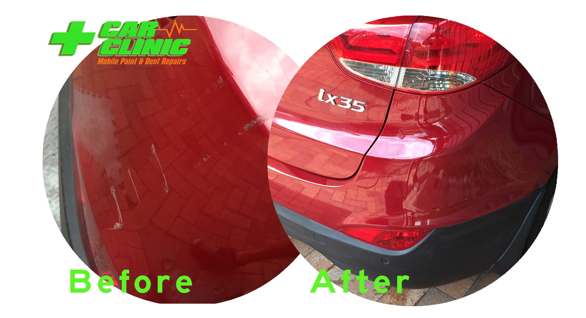 Mobile Paint & Dent Repairs - Brisbane - Before After Image 05