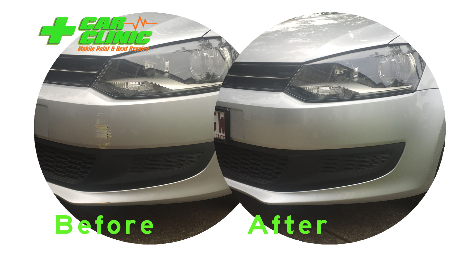 Mobile Paint & Dent Repairs - Brisbane - Before After Image 06