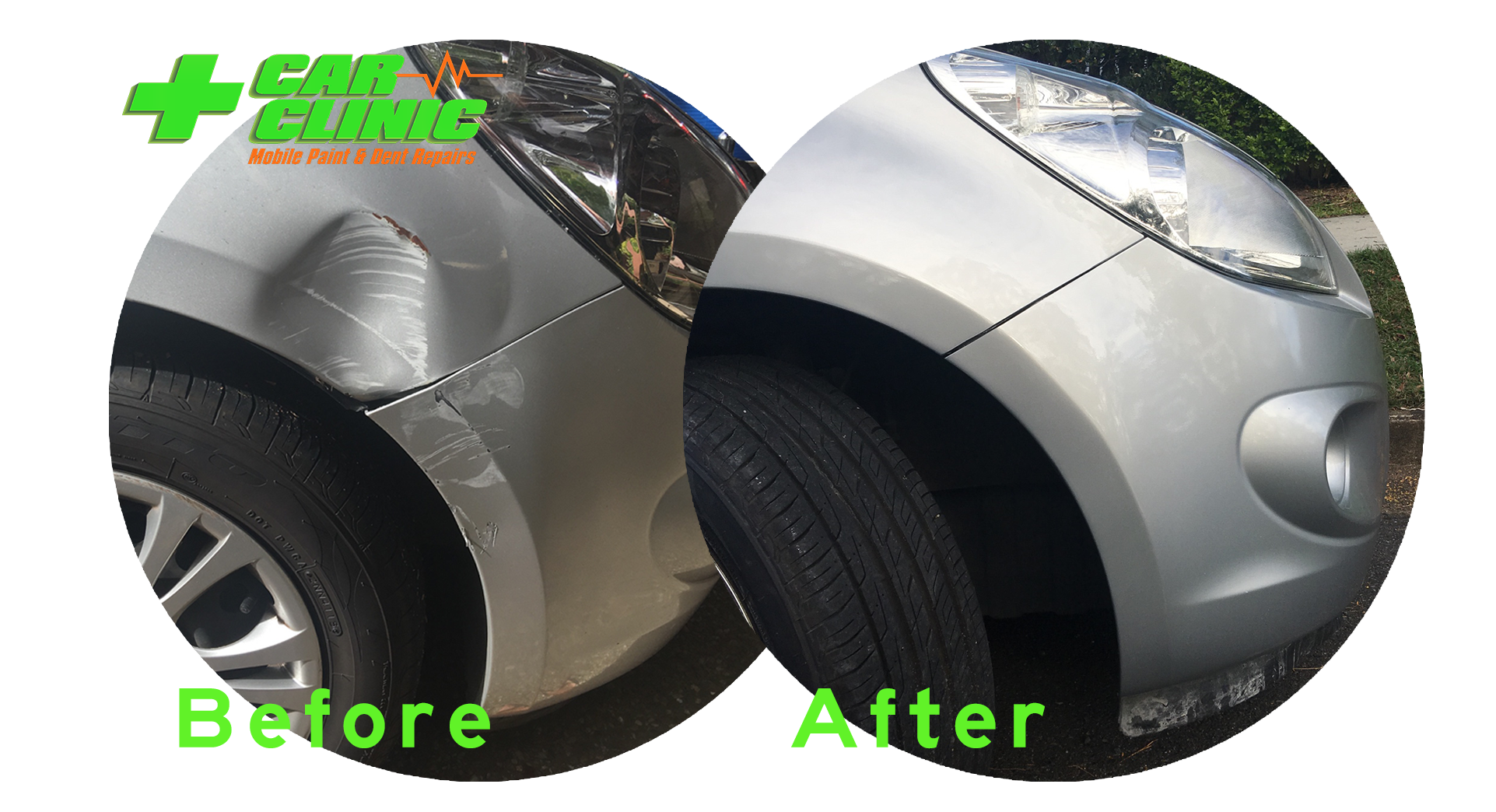 Mobile Paint & Dent Repairs - Brisbane - Before After Image 07